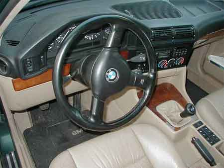 E46 M3 Steering Wheel In An E24